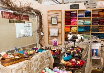 Mill Village Wool Mercantile - Front Display