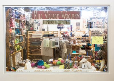 Mill Village Wool Mercantile | Front Display