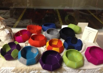 Handmade Wool Bowls for Sale at Mill Village Wool Mercantile