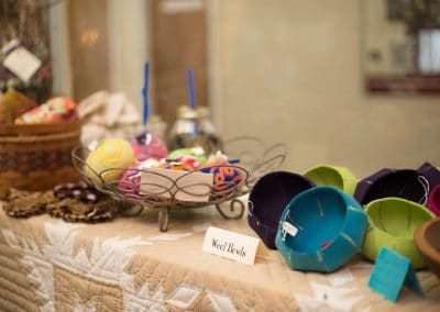 Handmade Wool Bowls and Hand Felted Wool Pincushions for Sale at Mill Village Wool Mercantile